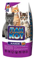 Сухой корм для котят Пан Кот Классик 10 кг