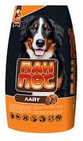 Корм низькокалорійний Пан Пес Лайт 10 кг для дорослих собак зі смаком курки