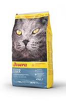 Корм Josera Cat Leger 10 кг для малоактивних, кастрованих котів і стерилізованих кішок