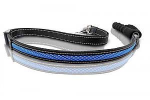 Поводок регулируемый LED AnimAll 2,5/120-150 см, синий