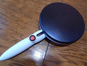 Блинница электрическая Saturn EC-6001, 20 см. антипригарное покрытие, нагрев до 200 С градусов, фото 2