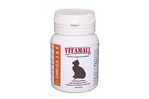 Кормовая добавка VitamAll для улучшения шерсти, для котов, 100 табл/50 г