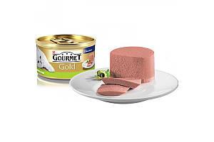 Gourmet Gold консервы для кошек 85 г х 24 шт - паштет с кроликом