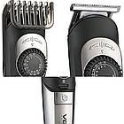Машинка для стрижки VGR V-088   Триммер для стрижки бороды   Машинка для стрижки   Набор для стрижки волос, фото 2
