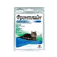 Merial Frontline Спот-он моно пипетка для кошек и котов от блох и клещей
