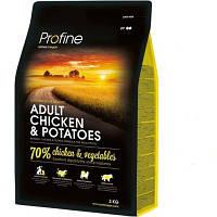 Profine Adult Chicken & Potatoes сухий корм для дорослих собак з куркою і картоплею 3 кг