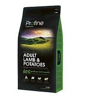 Profine Adult Lamb & Potatoes сухий корм для дорослих собак з ягням і картоплею 15 кг