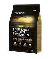 Profine Adult Large Breed Chicken & Potatoes сухий корм для дорослих собак великих порід з куркою і