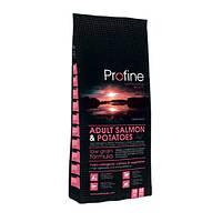 Profine Adult Salmon & Potatoes сухий корм для дорослих собак з лососем і картоплею 15 кг