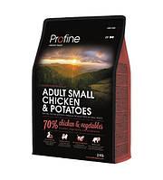 Profine Adult Small Breed Breed Chicken & Potatoes сухий корм для дорослих собак маленьких порід курка і