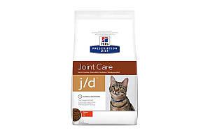 Hills Prescription Diet Feline j/d Chicken 2 кг лечебный сухой корм для кошек с артритами, курица