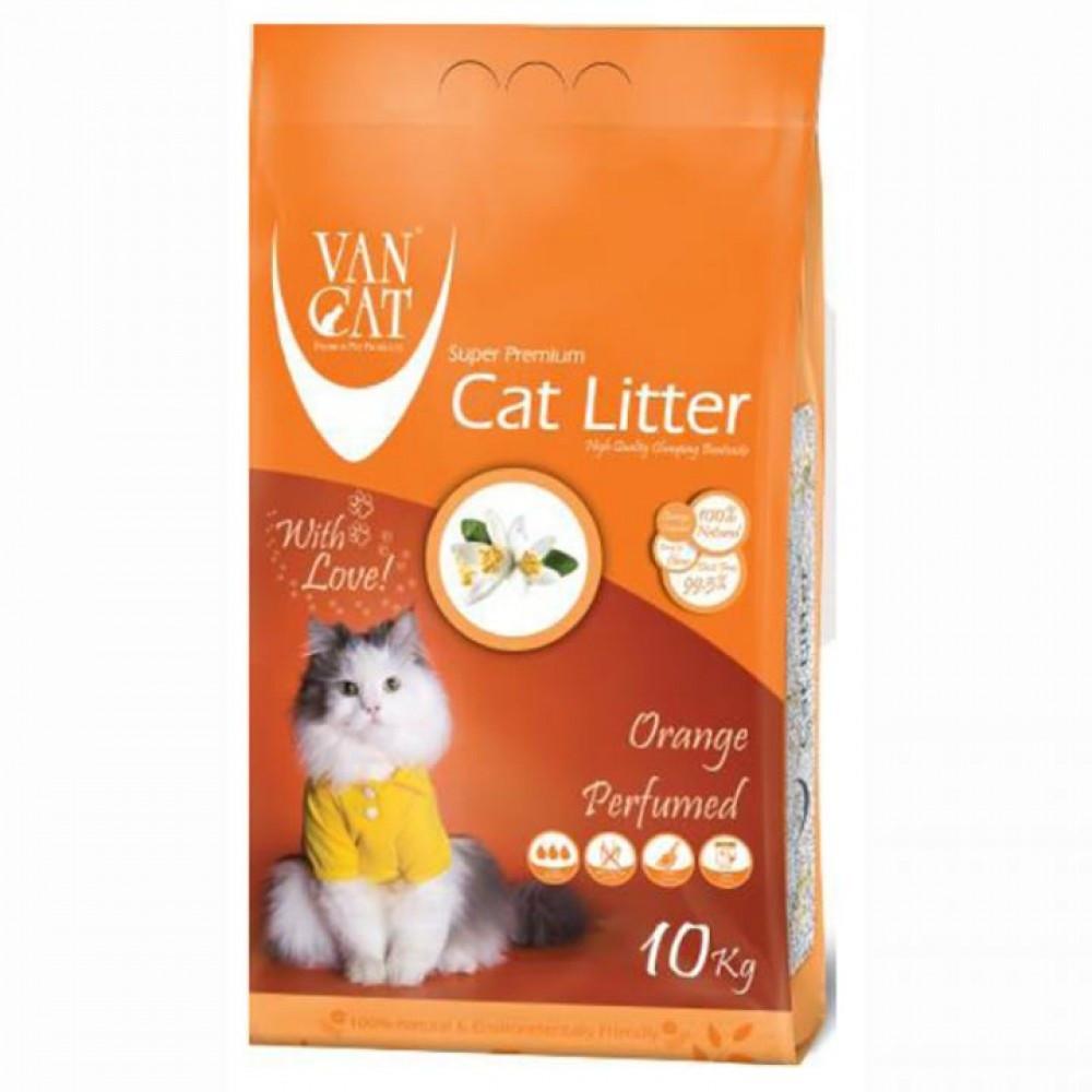 Van Cat Orange 10 кг - Бентонітовий наповнювач для туалету