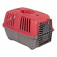 MPS (МПС) Pratico 1 контейнер для транспортування тварин з пласт. дверцятами, червоний 33x31,5x48 см