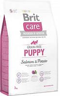 Brit Care GF Puppy Salmon & Potatoes 3 кг - Сухий корм для цуценят з лососем і картоплею