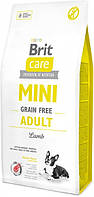 Brit Care Mini Grain Free Adult 7 кг - Сухий корм для дорослих собак мініатюрних порід з ягням