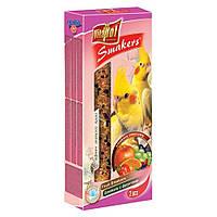 Vitapol (Витапол) Колба для Середніх папуг (Німфа), ФРУКТИ (упаковка-2шт).