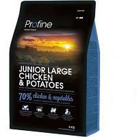Profine Junior Large Breed Chicken & Potatoes сухий корм для молодих собак великих порід з куркою