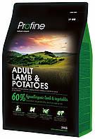 Profine Light Lamb & Potatoes сухий корм для оптимізації ваги у собаки з ягням і картоплею 3 кг