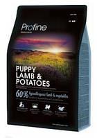 Profine Puppy Lamb & Potatoes сухий корм для цуценят і молодих собак з ягням і картоплею 15 кг