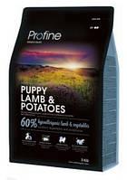 Profine Puppy Lamb & Potatoes сухий корм для цуценят і молодих собак з ягням і картоплею 3 кг