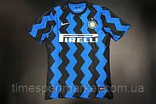 Футбольная форма Интер Милан домашная 2020-2021 (Футболка+шорты), фото 3