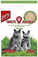 Чистые лапки 10 кг (45 л) - - Наполнитель для кошачьего туалета