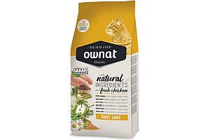 Ownat Classic Daily Care (Cat) 4 кг сухой корм для взрослых кошек с курицей