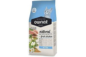 Ownat Classic Kitten (Cat) 4 кг сухой корм для котят с курицей