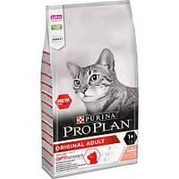 Сухой корм Purina Pro Plan Original Cat Salmon 1.5 кг для котов и кошек с лососем