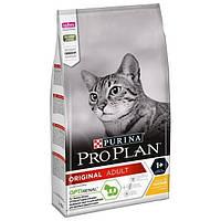 Сухий корм Purina Pro Plan Original Cat 1.5 кг для котів і кішок з куркою