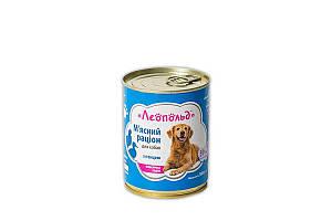 Консерва Леопольд для собак, рацион с птицей, 360 г