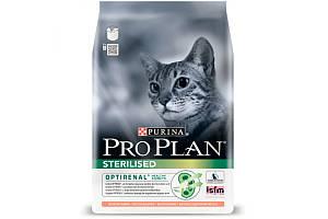 Сухий корм Pro Plan Cat Sterilised Salmon 1.5 кг для стерилізованих кішок і кастрованих котів з лососем