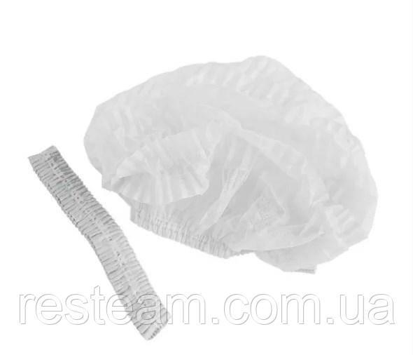 Шапочки для кухні  Білі 100шт/уп в поліетилені