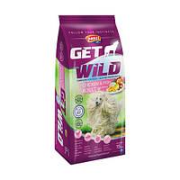 Сухий корм для собак Panzi Get Wild Adult Chicken and Fish (птах і риба з яблуком) 15 кг