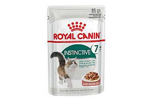 Royal Canin Instinctive 7 85 г х 12 - корм для котов от 7 лет (тонкие кусочки в соусе)
