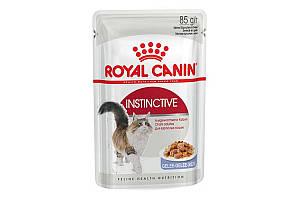 Royal Canin Instinctive 85 г х 12 - влажный корм в желе для котов от 1 года