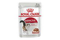 Royal Canin Instinctive 85 г х 12 - вологий корм в соусі для котів від 1 року, фото 1