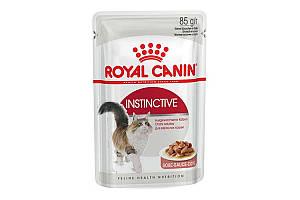 Royal Canin Instinctive 85 г х 12 - влажный корм в соусе для котов от 1 года
