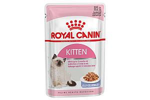 Royal Canin Kitten Jelly 85 г х 12 - влажный корм в желе для котят до 12 месяцев