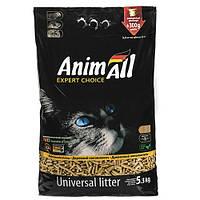 New AnimAll 5.3 кг - Древесный наполнитель для котов