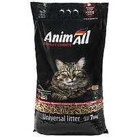 New AnimAll 7.5 кг - Древесный наполнитель для котов