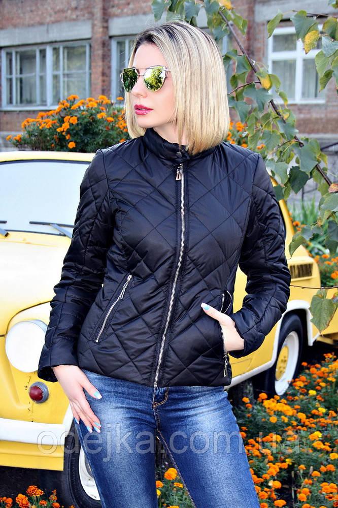 Куртка демисезонная №33 ромб