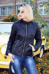 Куртка демісезонна №33 ромб