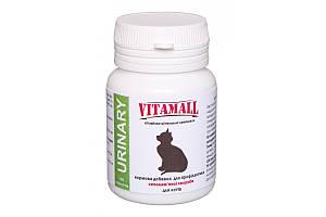 VitamAll кормова добавка профілактика сечокам'яної хвороби для котів 100 табл / 50 г