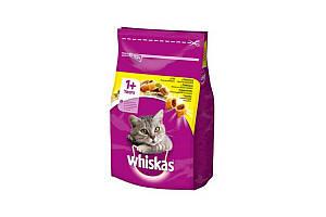 Сухий корм Whiskas з куркою 14 кг для дорослих кішок