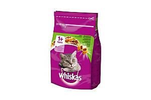 Сухий корм Whiskas з ягням 14 кг для дорослих кішок