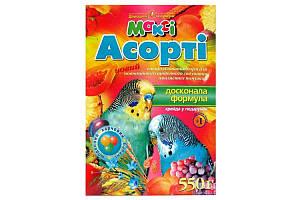 Макси корм для попугаев ассорти, 550 г
