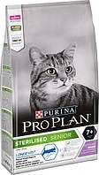 Pro Plan Cat Sterilised 7 сухий корм для стерилізованих кішок старше 7 років з індичкою 1,5 кг