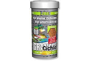 JBL GranaCichlid основний корм преміум-класу в формі гранул для хижих цихлид, 250 мл