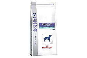 Royal Canin Sensitivity Control 1,5 кг - сухий корм для собак при харчової алергії